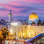 Jerusalem,,Israel,Old,City,At,The,Western,Wall,And,The