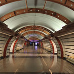 Russia, St Petersburg - Obvodny Canal subway station