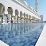UAE, Abu Dhabi - Sheikh Zayed mosque